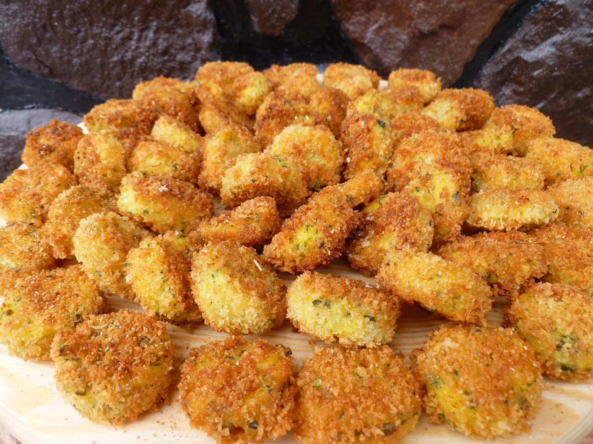 cheddar scallion polenta croquettes cheddar scallion polenta cheddar ...