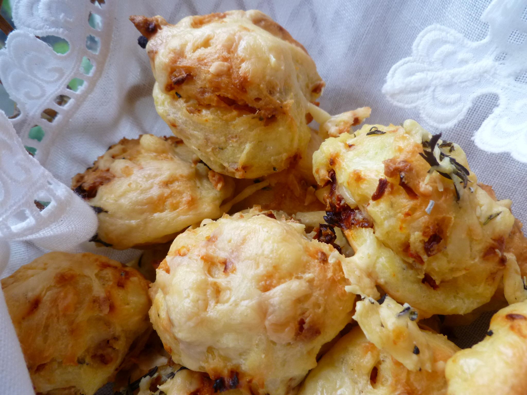 Petites Gougeres Fol Epi ~ Little Fol Epi Cheese Puffs ...
