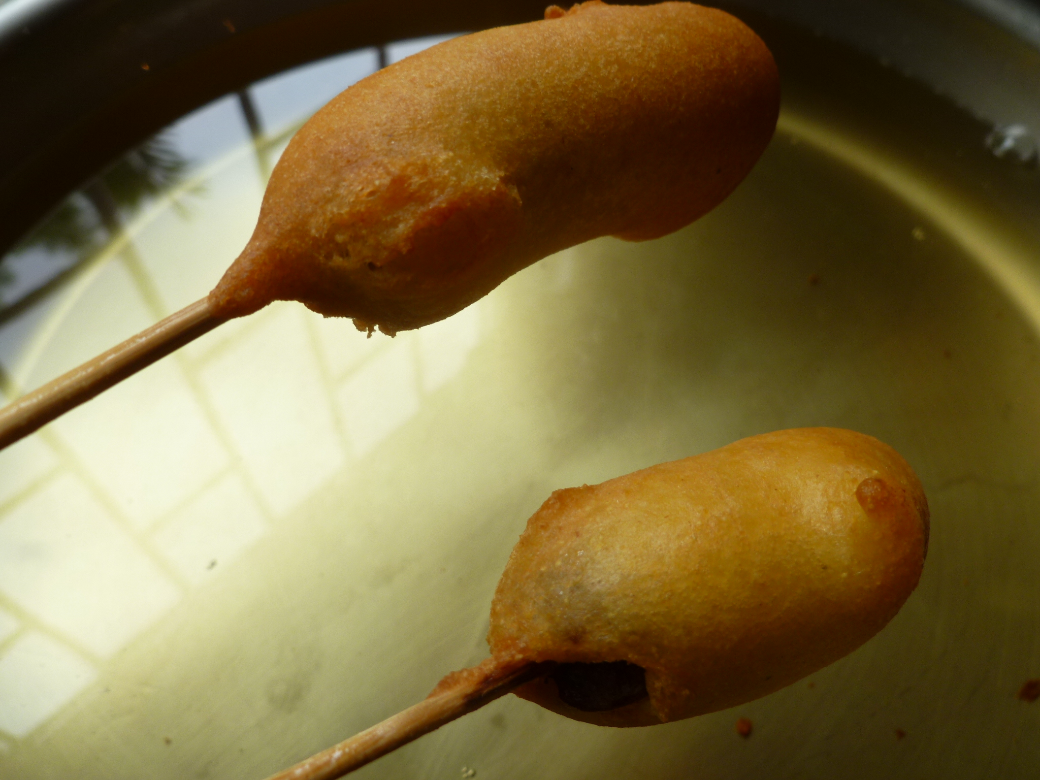 Merguez Corn Dogs Recipe — Dishmaps