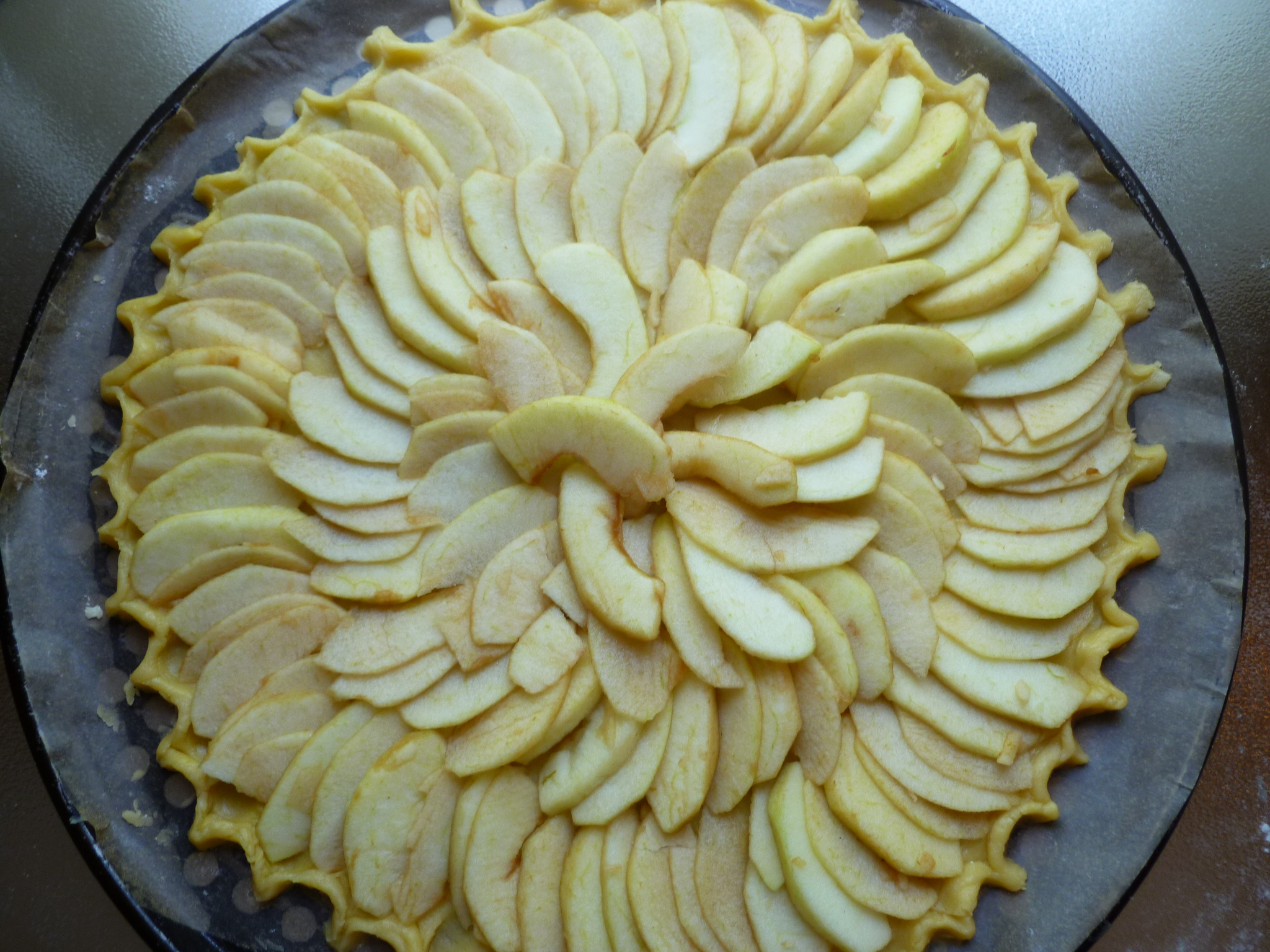 Warm Apple Galette ~ a demurely simple Apple Pie | diplomatickitchen