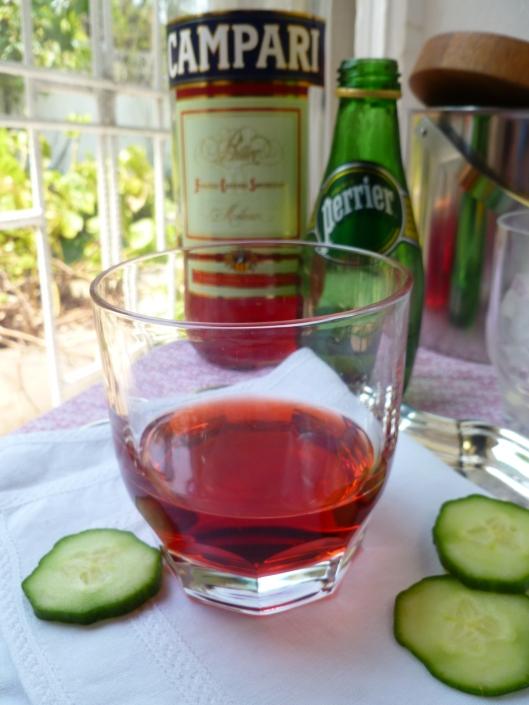 Campari Soda and Strawberry~Orange Campari Cocktail ...