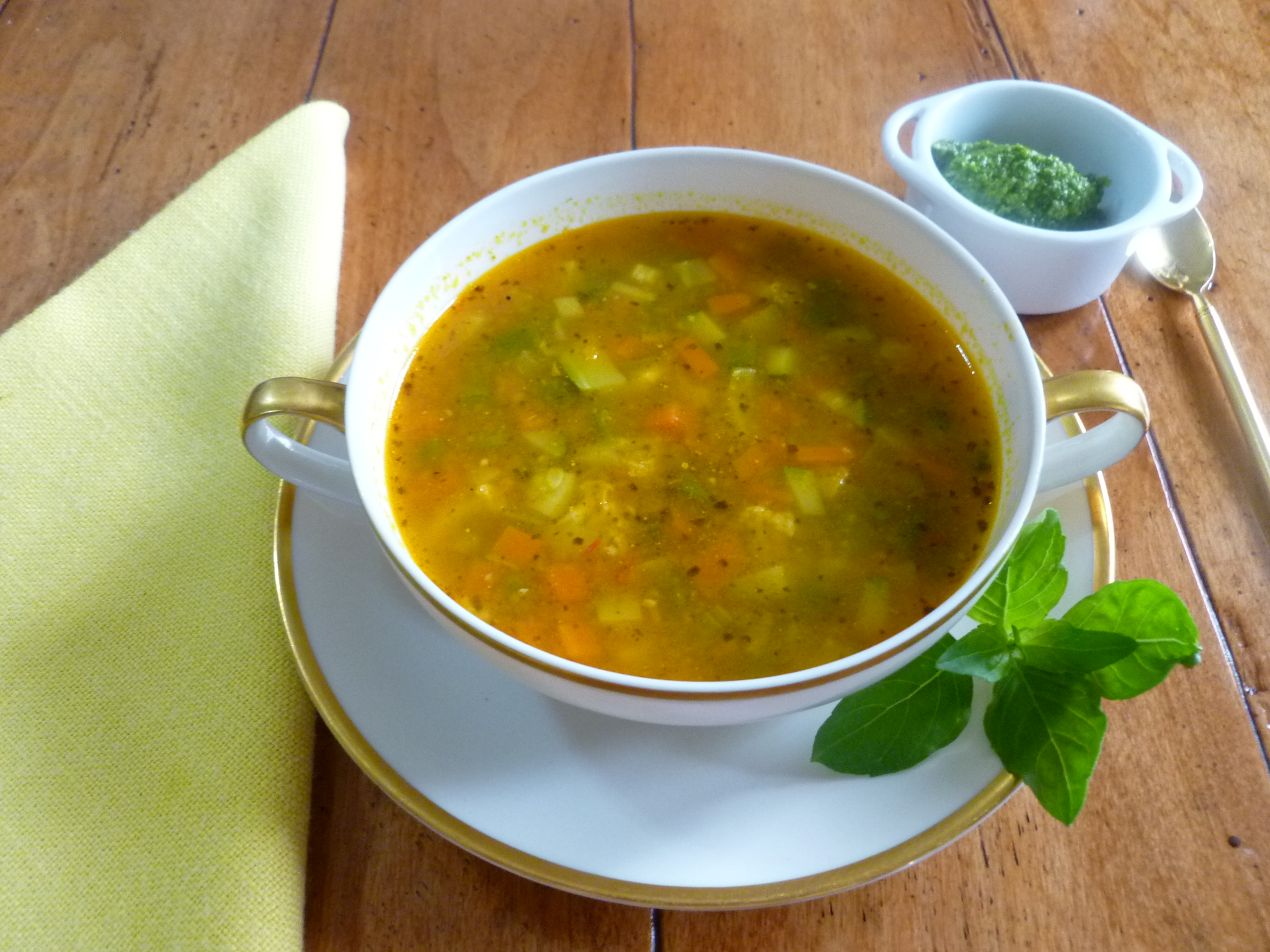 ... soup green minestrone spring as of last sunday spring vegetable soup