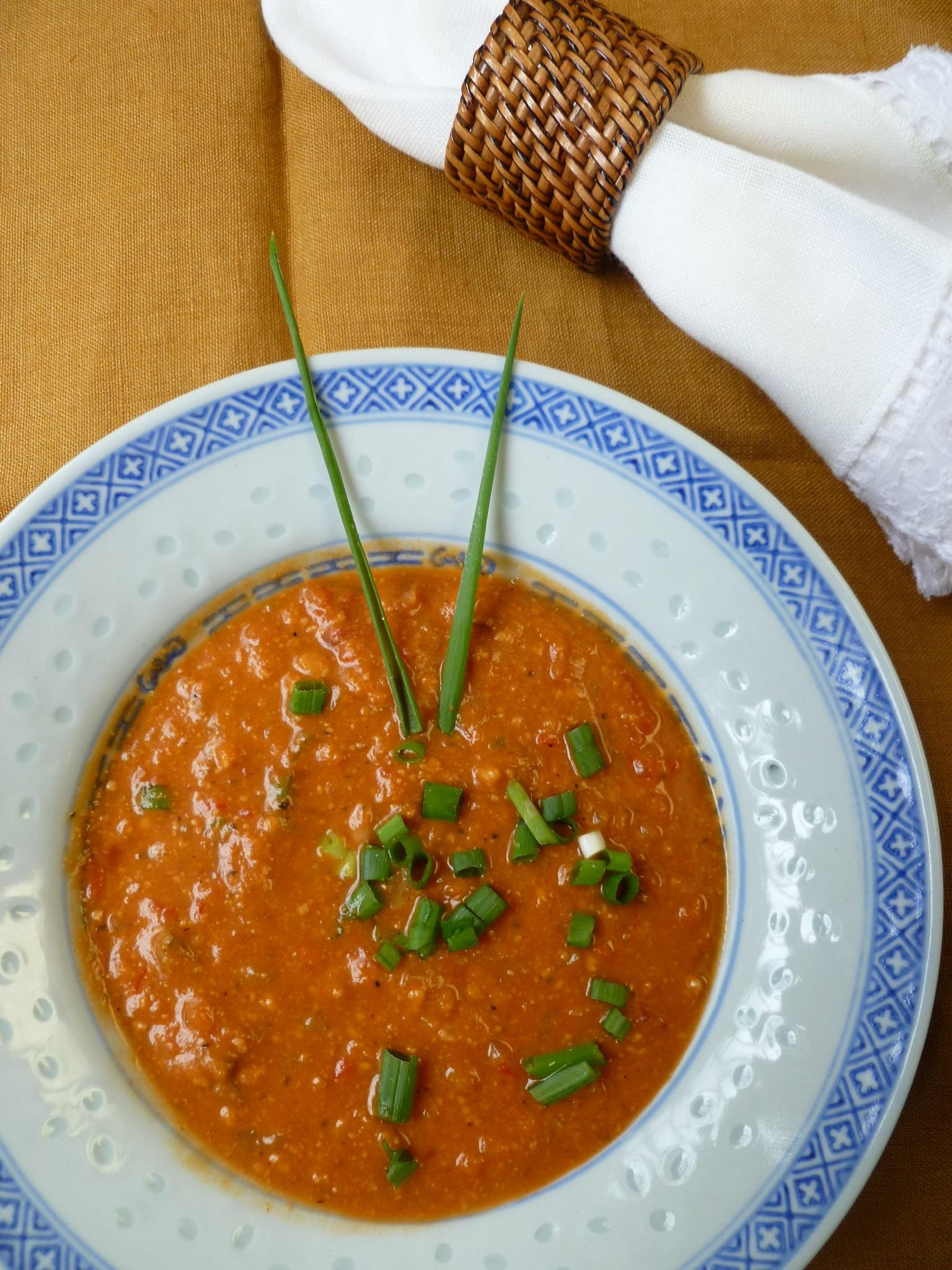 Sweet Potato Peanut Soup   diplomatickitchen