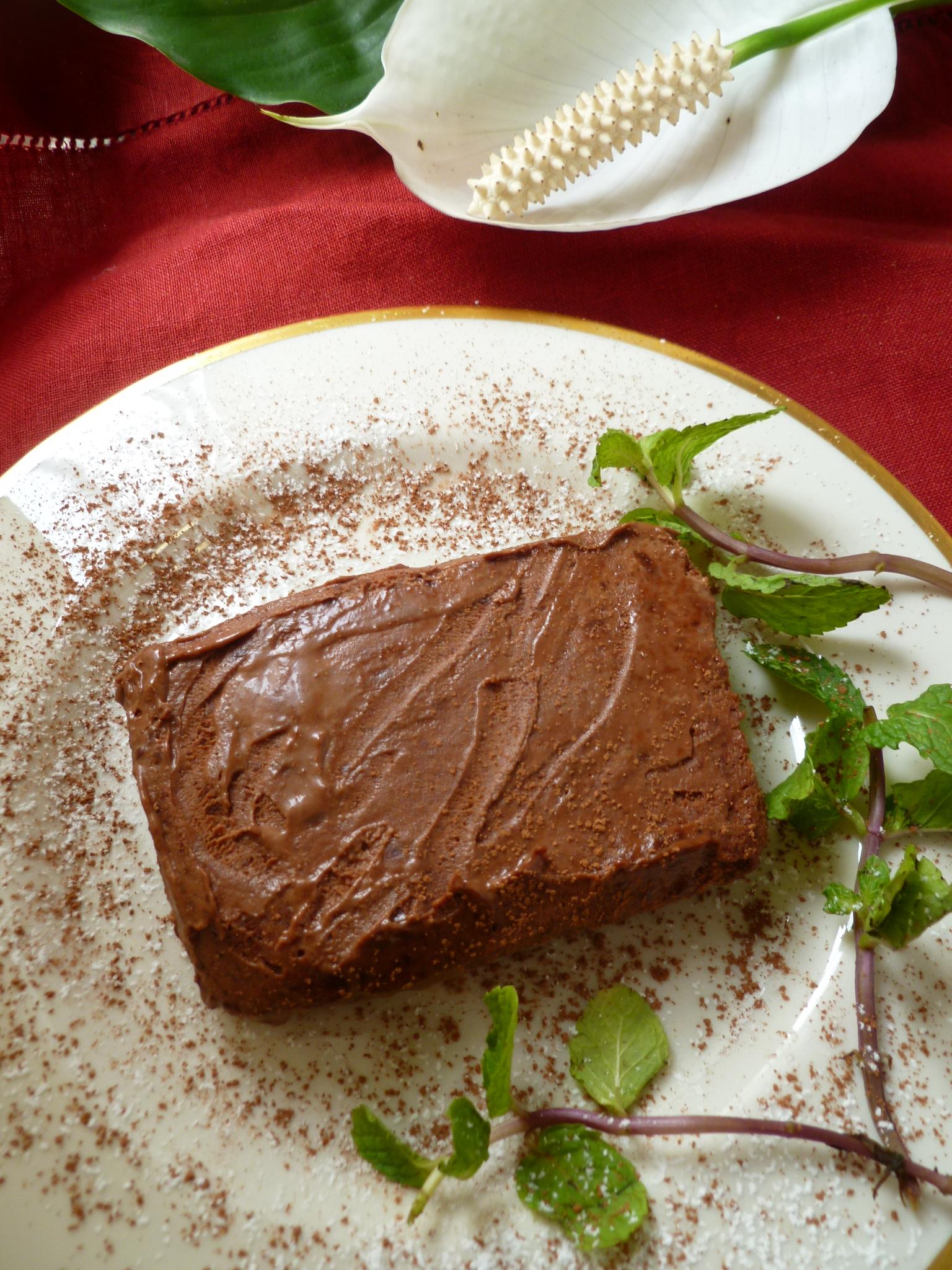 chocolate marquise marquise au chocolat diplomatickitchen