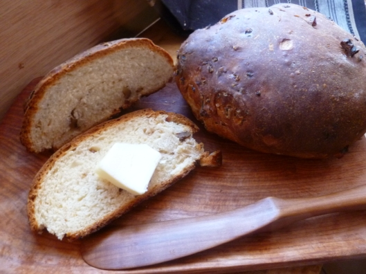 Burgundian Walnut Bread 036
