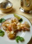 rock lobster tails with sauce musacat beaume all 019