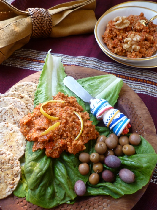 ... Roasted Red Pepper and Walnut Spread (Muhammarah) | diplomatickitchen