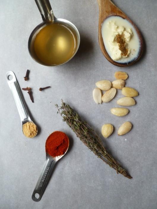 spiced almond soup madewith homemadestock 006
