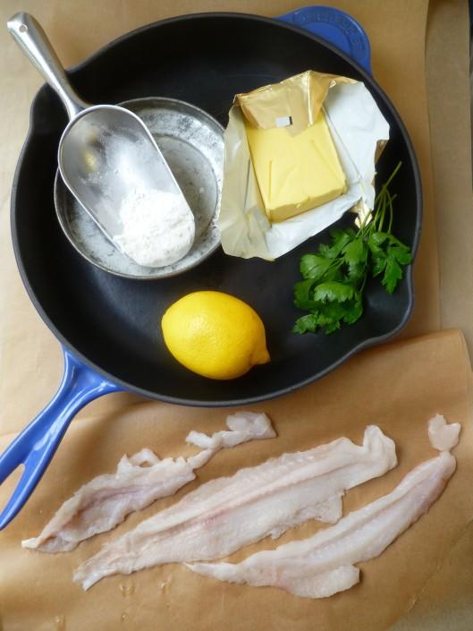 strawhaymushroomprosciuttopasta sole eith lemon butter sauce 011