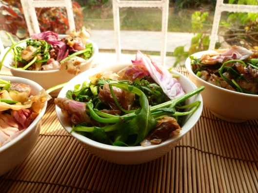 stirfry radicchio and arugula all 026