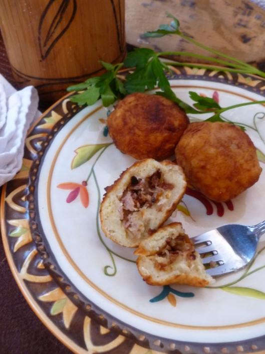 stuffingbread stuffed dumplingfinished 014