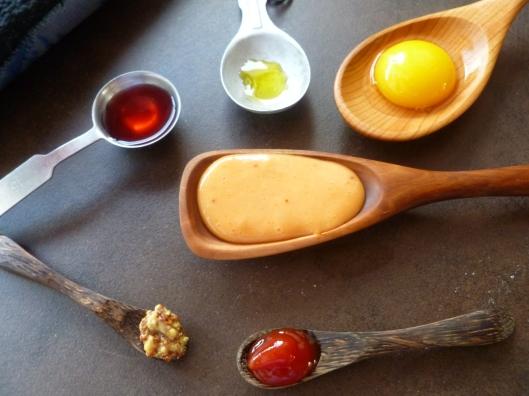 sauce amora beerbatter carrotsand brocoli 026