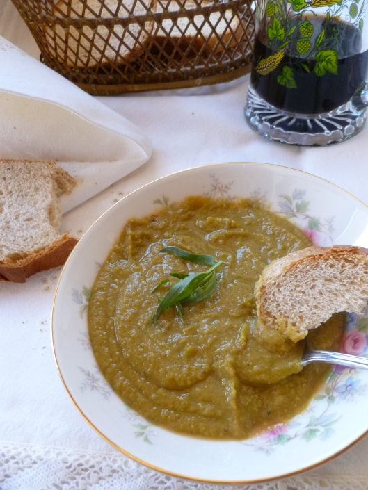 splitpea soup finished 024
