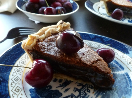 devastating choc fudge pie 021